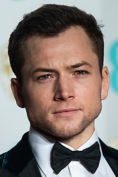 Taron Egerton attending 72nd British Academy Film Awards, Arrivals, Royal Albert Hall, London. 10th February 2019