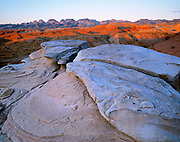 Rock Formation at Dawn,East of the Waterpocket FoldCapitol Reef National Park, Utah