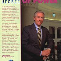 Senior Executive Portrait of John Temple, CEO Emeritus, ARVIDA Corporation, on location