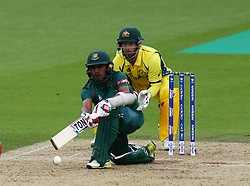 June 5, 2017 - London, United Kindom - Md.Mehidy Hassan Miraz of Bangladesh.during the ICC Champions Trophy match Group A between Australia and Bangladesh at The Oval in London on June 05, 2017  (Credit Image: © Kieran Galvin/NurPhoto via ZUMA Press)