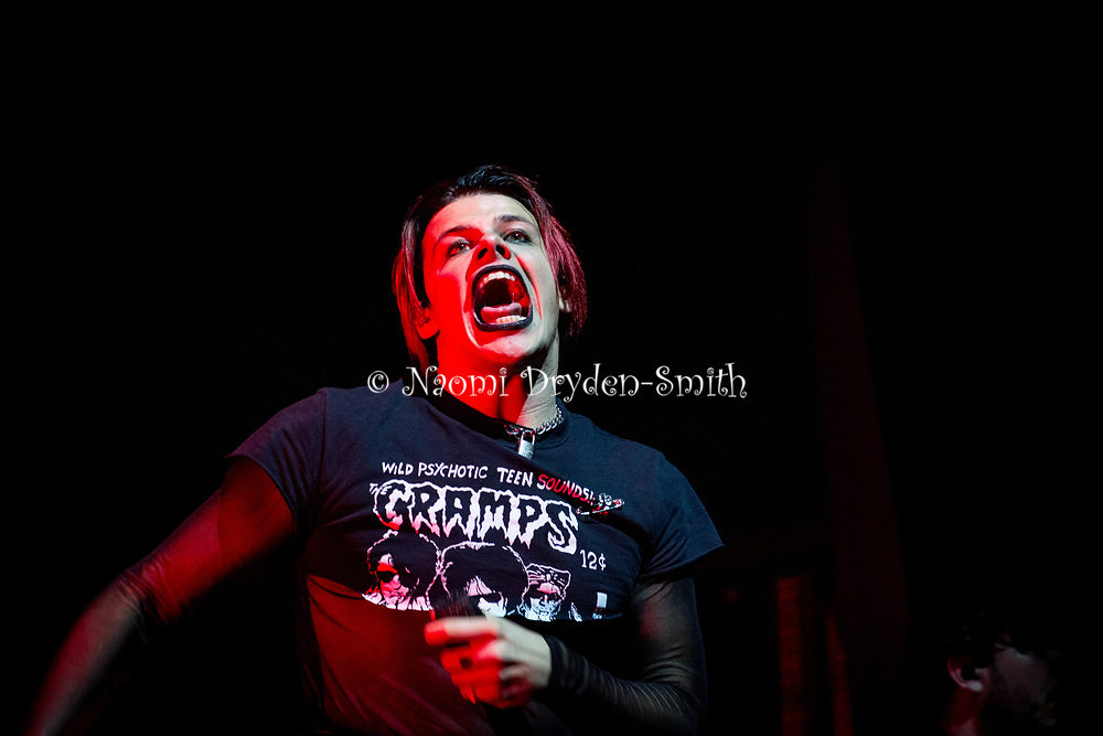 YUNGBLUD © Naomi Dryden-Smith Yungblud at O2 Forum Kentish Town on 14 August 2021