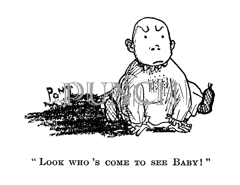 """""""Look who's come to see baby!"""""""