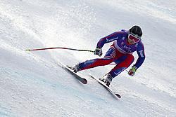 12.02.2011, Kandahar, Garmisch Partenkirchen, GER, FIS Alpin Ski WM 2011, GAP, Herren Abfahrt, im Bild TJ Baldwin (GBR) lands a jump competing in the men's downhill race on the Kandahar race piste at the 2011 Alpine skiing World Championships, EXPA Pictures © 2010, PhotoCredit: EXPA/ M. Gunn