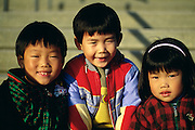 NJ, Holmdel, (Garden State Arts Center), PNC Arts Center, Chinese children at Chinese American festival