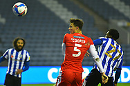 Jake Cooper during the EFL Sky Bet Championship match between Sheffield Wednesday and Millwall at Hillsborough, Sheffield, England on 7 November 2020.