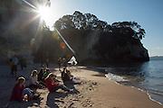 kiwi experience adventure travel hop on hop off backpacker bus new zealand tourism photos
