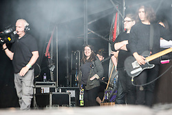 Catfish and the Bottlemen play the Radio 1 stage. Sunday, 12th July 2015, day three at T in the Park 2015, at its new home at Strathallan Castle.