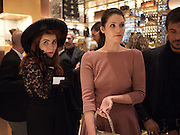 PALOMA FAITH; GEMMA ARTERTON, Louis Vuitton openingof New Bond Street Maison. London. 25 May 2010. -DO NOT ARCHIVE-© Copyright Photograph by Dafydd Jones. 248 Clapham Rd. London SW9 0PZ. Tel 0207 820 0771. www.dafjones.com.