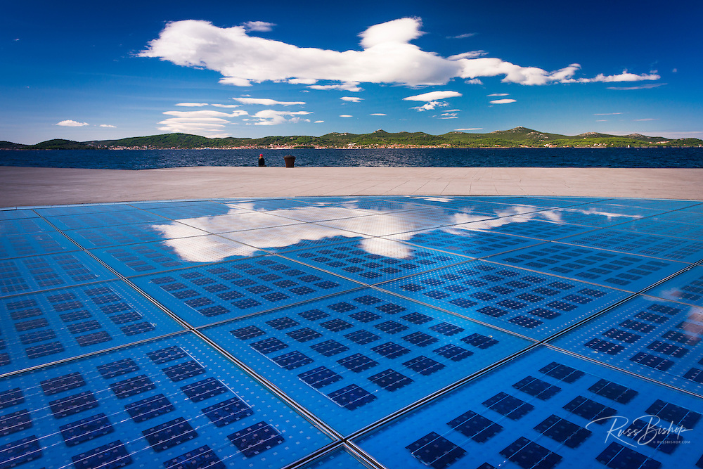 Greetings to the Sun solar panel, Zadar, Dalmatian Coast, Croatia