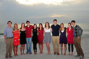 The Senior class of swimmers.
