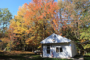 These are the final images of my late father's forest home in northern Lower Michigan, as it existed on October 12, 2013, a little over a year after his passing. They are rather deliberately zoomed-out, and stark, but that is how the place felt to me on that final visit, so that is how I captured these images. Always a place of laughter and family activities, going back to the early 1970s, the place, while peaceful and beautiful on that day, emanated a shrieking silence, not unlike that which I experience when I view these images, now. This small collection of images is a final, physical remembrance of a place, only, and certainly not of the wonderful things that happened here, during the years of my parents' and grandparents' lives. It was important, though, to record these for my children, who, for now, haven't the emotional capacity to return here, and for my brothers ..... and for me.