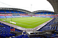 Bolton Wanderers Stadium before the EFL Sky Bet League 1 match between Bolton Wanderers and Coventry City at the University of  Bolton Stadium, Bolton, England on 10 August 2019.