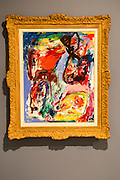 'Composition' 1967 by Asger Jorn 1914-1973, oil on canvas, Kode 4 art gallery Bergen, Norway - check copyright status for intended use