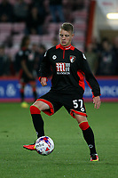 Football - 2016 / 2017 League Cup - Round 3: AFC Bournemouth vs. Preston North End<br /> <br /> Bournemouth's Keelan O'Connell before kick off at Dean Court (The Vitality Stadium) Bournemouth<br /> <br /> Colorsport/Shaun Boggust