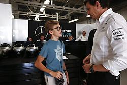 October 8, 2017 - Suzuka, Japan - Motorsports: FIA Formula One World Championship 2017, Grand Prix of Japan, .Toto Wolff (AUT, Mercedes AMG Petronas Formula One Team) (Credit Image: © Hoch Zwei via ZUMA Wire)