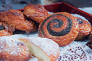 Assortment of pastries