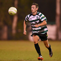 BRISBANE, AUSTRALIA - FEBRUARY 3:  during the FQPL Senior Men's Round 1 match between Souths United and Rochedale Rovers on February 3, 2018 in Brisbane, Australia. (Photo by Patrick Kearney)