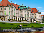 The Royal Castle on the river side – the former official residence of Polish monarchs
