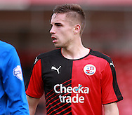 Crawley Town defender Mitch Hancox during the Sky Bet League 2 match between Crawley Town and Leyton Orient at the Checkatrade.com Stadium, Crawley, England on 10 October 2015. Photo by Bennett Dean.