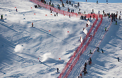23.10.2011, Rettenbachferner, Soelden, AUT, FIS World Cup Ski Alpin, Herren, Riesenslalom, im Bild Feataure vom Steilhang // during Mens ginat Slalom at FIS Worldcup Ski Alpin at the Rettenbachferner in Solden on 23/10/2011. EXPA Pictures © 2011, PhotoCredit: EXPA/ Johann Groder