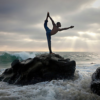 Newton Campbell, originally from Jamaica, quit his high-paying job as a corporate comptroller and began to teach yoga and live a more simple life. He now owns his own studio outside of Los Angeles.