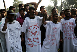 September 30, 2018 - Dhaka, Bangladesh - Activists of Bangladesh Nationalist party joined at a rally in Dhaka, Bangladesh on September 30, 2018. Thousands supporters joined the rally organized by Bangladesh Nationalist Party (BNP) at Suhrawardy Udyan in Dhaka demanding for release of their party chief Khaleda Zia who is jailed in a corruption case. (Credit Image: © Rehman Asad/NurPhoto/ZUMA Press)