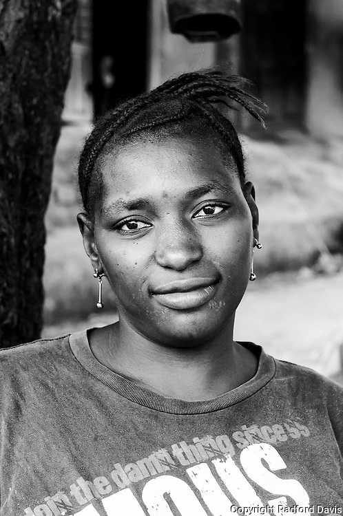 This young woman in Koromasilya, Sierra Leone, is very enthusiastic about becoming a CAHW.