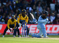Cricket - 2019 ICC Cricket World Cup - Group Stage: England vs. Sri Lanka<br /> <br /> England's Moeen Ali in action today during the ICC Cricket World Cup match between England and Sri Lanka, at Headingley, Leeds<br /> <br /> COLORSPORT/ASHLEY WESTERN