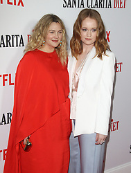 Los Angeles Premiere of Netflix's Santa Clarita Diet Season Two at Arclight in Hollywood, California on 3/22/18. 22 Mar 2018 Pictured: Drew Barrymore, Liv Hewson. Photo credit: River / MEGA TheMegaAgency.com +1 888 505 6342
