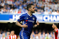 Chelsea Midfielder Cesc Fabregas (4) during the Premier League match between Chelsea and Sunderland at Stamford Bridge, London, England on 21 May 2017. Photo by Andy Walter.