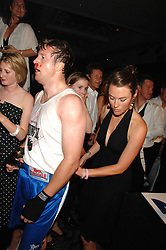 HUGH CROSSLEY and JESSICA CRAIG at the 2008 Boodles Boxing Ball in aid of the charity Starlight held at the Royal Lancaster Hotel, London on 7th June 2008.<br /> <br /> NON EXCLUSIVE - WORLD RIGHTS