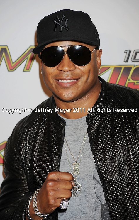 LOS ANGELES, CA - MAY 14: LL Cool J  arrives at KIIS FM's 2011 Wango Tango Concert at Staples Center on May 14, 2011 in Los Angeles, California.