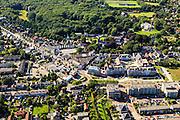 Nederland, Zuid-Holland, Voorne-Putten, 15-07-2012; centrum van Oostvoorne .The village of Oostvoorne on the former isle Voorne (SW Netherlands).luchtfoto (toeslag), aerial photo (additional fee required).foto/photo Siebe Swart