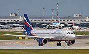 VQ-BBC Aeroflot Airbus A320-200 Photographed at Malpensa airport, Milan, Italy