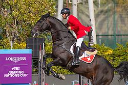 Da Silva Arthur, SUI, Inonstop van T Voorhof<br /> Longines FEI Jumping Nations Cup™ Final<br /> Barcelona 20128<br /> © Hippo Foto - Dirk Caremans<br /> 07/10/2018