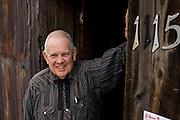 Professor Shutterbug's Old Tyme Portrait Parlour on Blair Street, Silverton, Colorado.