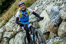 13-09-2017 FRA: BvdGF Tour du Mont Blanc day 4, Trient<br /> Van Chamonix naar Trient. <br /> Manu
