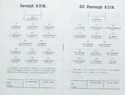 All-Ireland U-21 Hurling Final.Kilkenny v Cork.09.10.1977  9th October 1977.Thurles