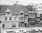 Y-570523 Ladd Carriage House. SW Columbia & Broadway. May 23, 1957