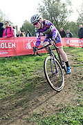 Belgium, November 1 2017:  Natalie Redmond (Ozriders Cannondale Sram) during the 2017 edition of the Koppenbergcross. Redmond finished the race in 21st place.  Copyright 2017 Peter Horrell.