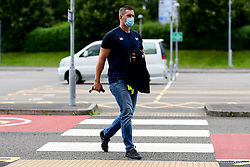 Guinness PRO14, Liberty Stadium, Swansea, UK 23/8/2020<br /> Ospreys v Dragons<br /> Dan Lydiate of Ospreys arrives at Liberty Stadium prior to kick off<br /> Mandatory Credit ©INPHO/Ryan Hiscott