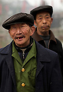 Friendly gentlemen on the streets of Chengdu