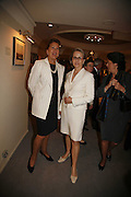 Penny Marks and Alison Vaissiere. The opening  day of the Grosvenor House Art and Antiques Fair.  Grosvenor House. Park Lane. London. 14 June 2006. ONE TIME USE ONLY - DO NOT ARCHIVE  © Copyright Photograph by Dafydd Jones 66 Stockwell Park Rd. London SW9 0DA Tel 020 7733 0108 www.dafjones.com