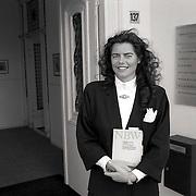 NLD/Bussum/19920121 - Mw.Paulien Visser - van Daal met Nieuw Burgelijk Wetboek