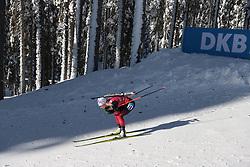 14.02.2021, Center Pokljuka, Pokljuka, SLO, IBU Weltmeisterschaften Biathlon, Sprint, Damen, im Bild echkoff (tiril) (nor) // during womens Sprint competition of IBU Biathlon World Championships at the Center Pokljuka in Pokljuka, Slovenia on 2021/02/14. EXPA Pictures © 2021, PhotoCredit: EXPA/ Pressesports/ Frederic Mons<br /> <br /> *****ATTENTION - for AUT, SLO, CRO, SRB, BIH, MAZ, POL only*****