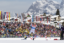 February 21, 2019 - Seefeld In Tirol, AUSTRIA - 190221 Viktor Thorn of Sweden competes in men's cross-country skiing sprint qualification during the FIS Nordic World Ski Championships on February 21, 2019 in Seefeld in Tirol..Photo: Joel Marklund / BILDBYRÃ…N / kod JM / 87880 (Credit Image: © Joel Marklund/Bildbyran via ZUMA Press)