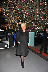 Singer ENILE SANDE at a Winter Party hosted by Tiffany to celebrate the opening of the Ice Rink at Somerset House for Christmas 2011 held on 21st November 2011.