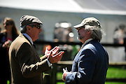 27 March 2010 : Race officials have a heated discussion before the start of the first race in Camden.