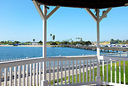 Newport Dunes Gazebo View