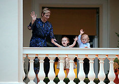 Princess Charlene & Twins - 26 June 2017
